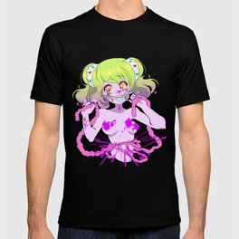 Guro Girl - Splatter CENSORED T-shirt