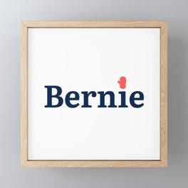 Bernie Sanders Mittens, Bernie mittens, funny Bernie inauguration, liberal , Bernie 2020 top Framed Mini Art Print