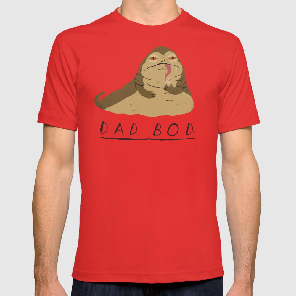 c9f80158 dad bod T-shirt by louisroskosch | Society6