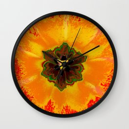 Extreme Tulip Wall Clock