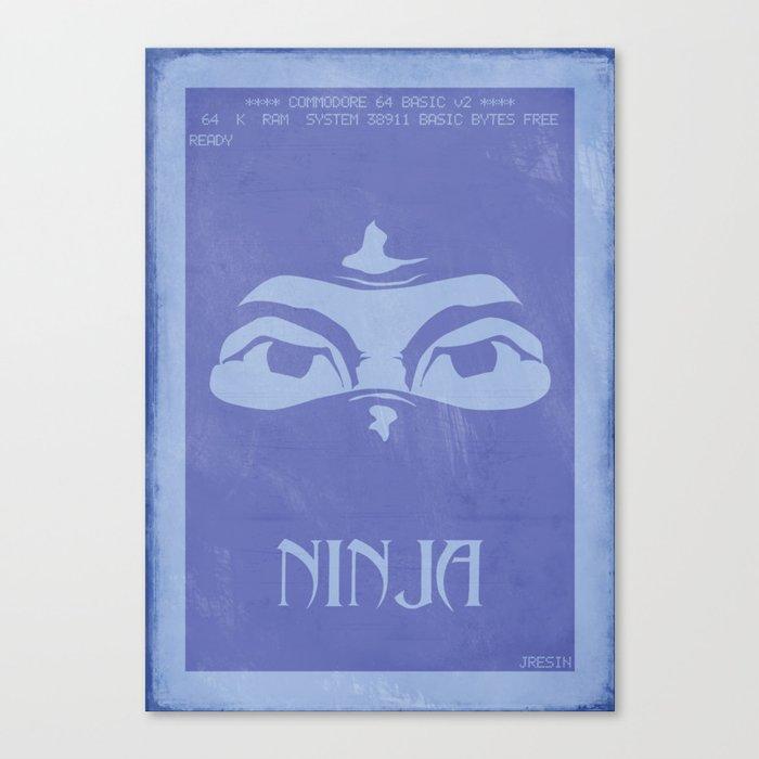 Retrogameing - Last Ninja Canvas Print