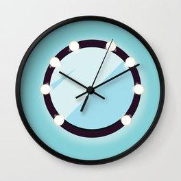 Celebrity Mirror Wall Clock