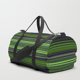 Apple Grape Rag Weave I by Chris Sparks Duffle Bag