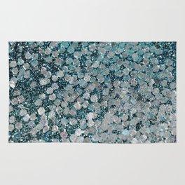 Mermaid Scales Aqua Sol Rug