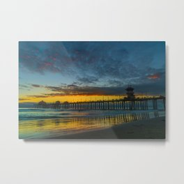 Colors in the Sand Metal Print