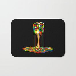 Rainbow melted rubix cube iPhone 4 5 6 7 8, pillow case, mugs and tshirt Bath Mat