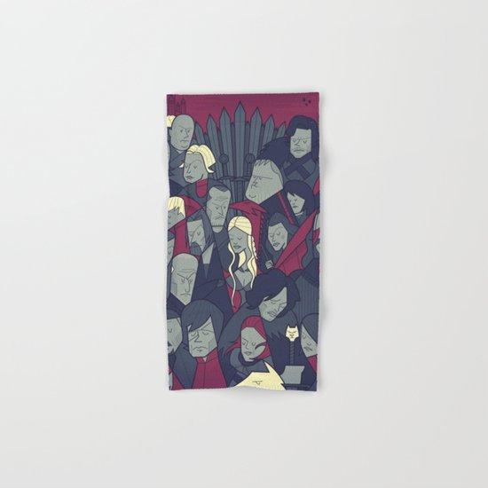 Ice and Fire Hand & Bath Towel