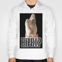 hiphop Hoodies featuring HIPHOP GUY by Robleedesigns