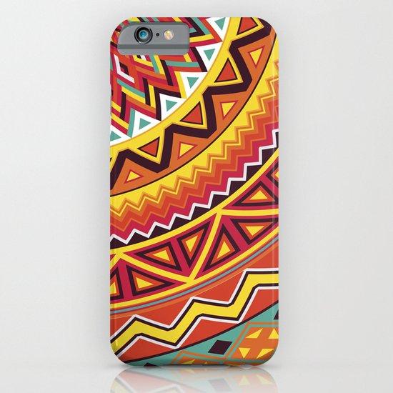 Mandala Aztec Pattern 4 iPhone & iPod Case