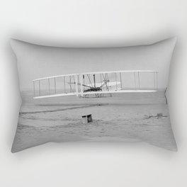 Wright Brothers First Flight Rectangular Pillow