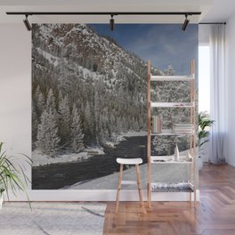 Carol Highsmith - Snow Covered Conifers Wall Mural