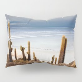 Cacti and the Ocean Pillow Sham