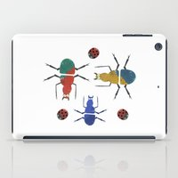 insects iPad Cases featuring playful insects by Lydia Coventry