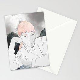 mygirl case Stationery Cards