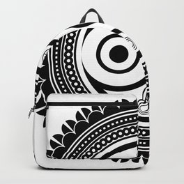 zentangle Owl Backpack