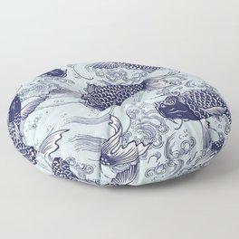 Japanese Koi Carp Floor Pillow
