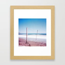 Gateway #2. Analog. Film photography Framed Art Print