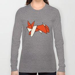 Origami Fox Long Sleeve T-shirt