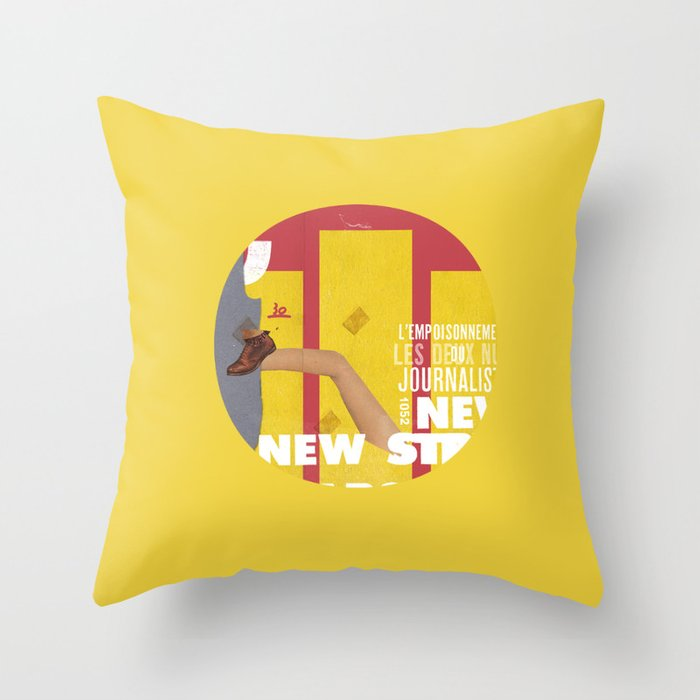 Strippers, Shirts & Shoes  Throw Pillow