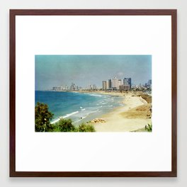 Dreamy Beach Framed Art Print