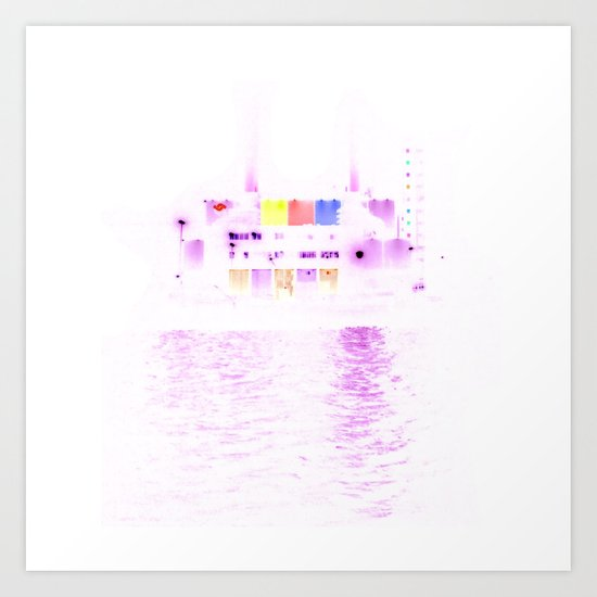 white harbor VII. Art Print