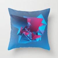 witchcraft Throw Pillows featuring Witchcraft by George Smith 3