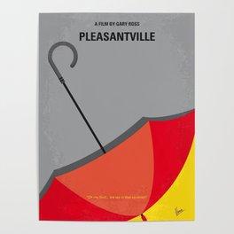 No990 My Pleasantville minimal movie poster Poster