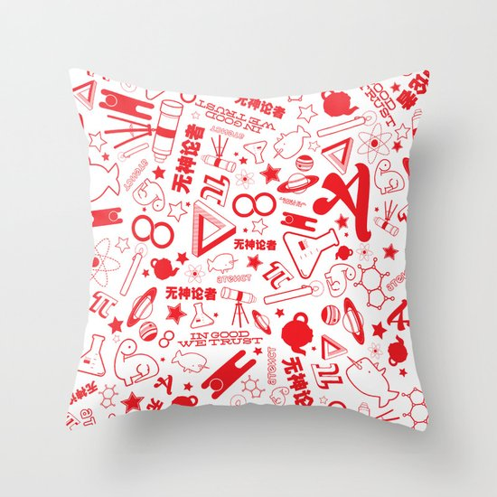 Scarlet A - Version 1 Throw Pillow
