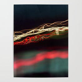 Road Lights Poster