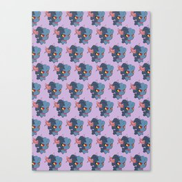 [SAGE] Misdreavus Pokémon Pattern Canvas Print