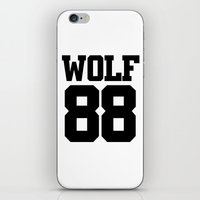 exo iPhone & iPod Skins featuring EXO WOLF 88 by Cathy Tan