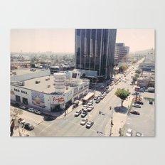 Sunset Blvd Canvas Print