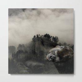 Gorilla Forest Metal Print