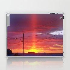 Winter Light Pillar Laptop & iPad Skin