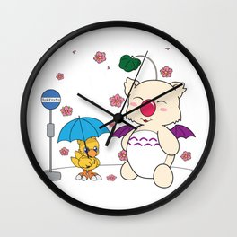 Chocobo's Neighbor. Wall Clock