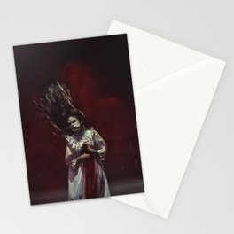 the ghost inside me Stationery Cards