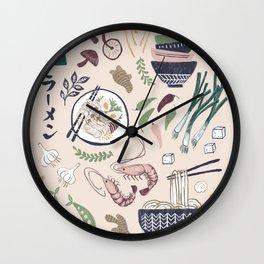 Ramen Bowl Wall Clock