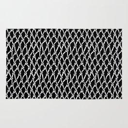 Net Black Rug