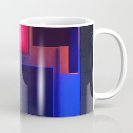 Urban Tetris Block 3D Artwork Coffee Mug