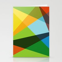 kaleidoscope Stationery Cards featuring Kaleidoscope by Marina Design