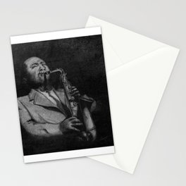Saxophonist Stationery Cards