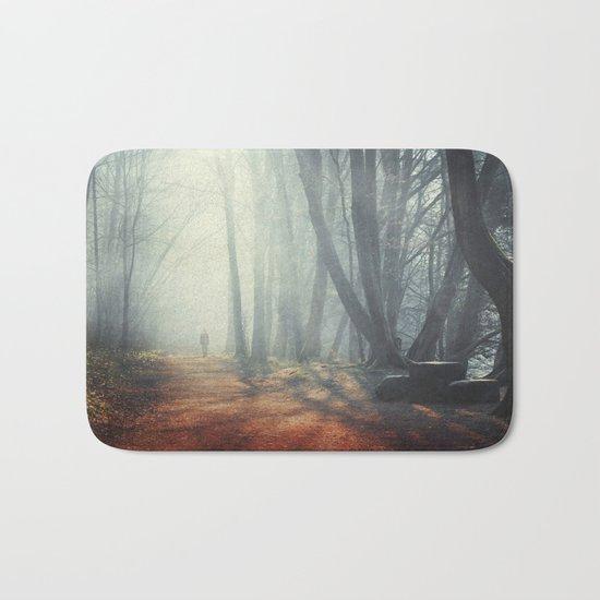 Luminous Forest Bath Mat