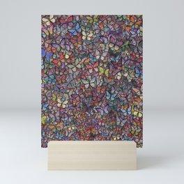 butterfly kaleidoscope Mini Art Print