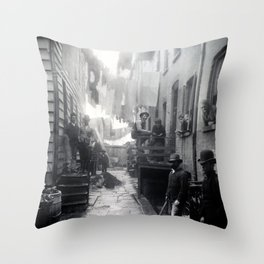 Jacob Riis Bandit's Roost Throw Pillow
