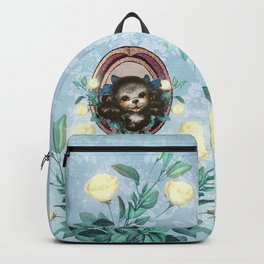 Kitschy Blue Puppy Backpack