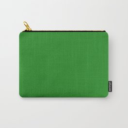 Forest Green (Web) - solid color Carry-All Pouch