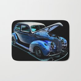 1939 Ford Coupe By Annie Zeno Bath Mat
