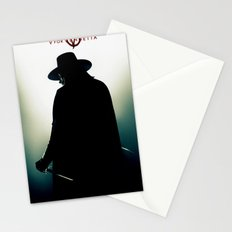 V for Vendetta (e4) Stationery Cards