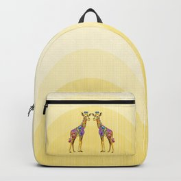 Giraffe Friends Backpack