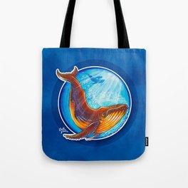 Humback Whale Tote Bag